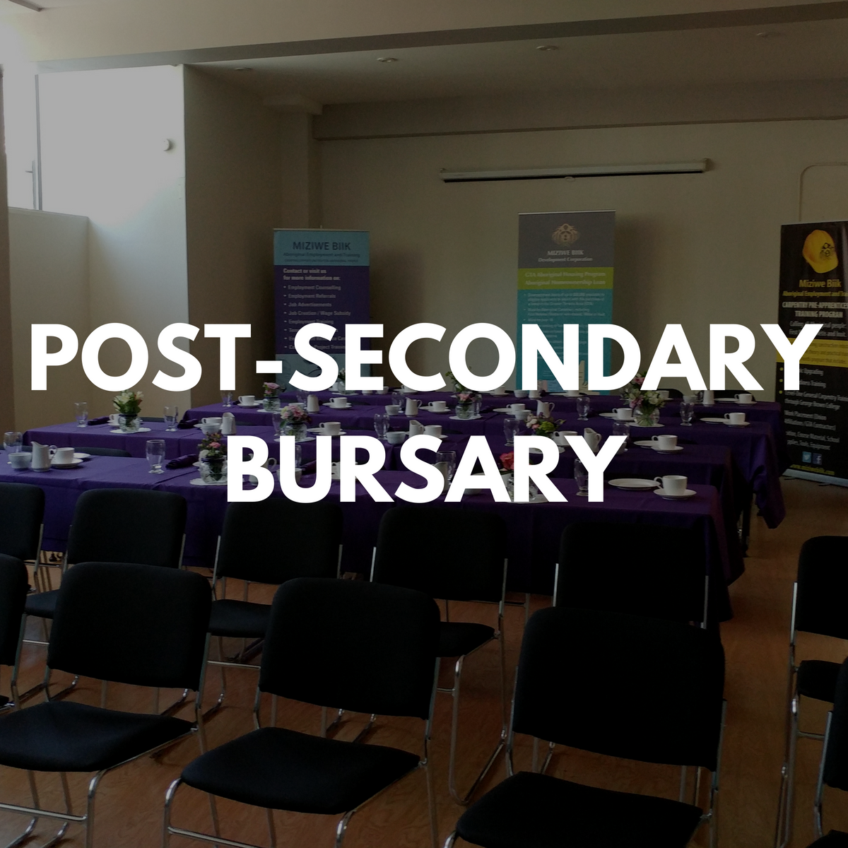 Post-Secondary/Apprenticeship Bursary